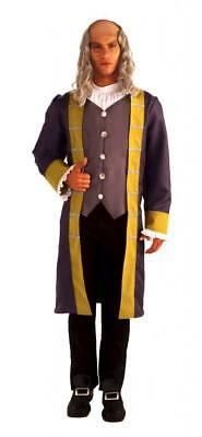 Herren Erwachsene Präsidentschaftswahlen Helden Ben Franklin (Herr Ben Kostüme)