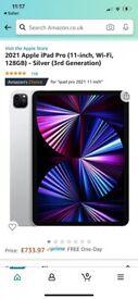 2021 apple iPad Pro 11-inch