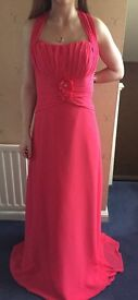 Mori Lee Pink Bridesmaid Dress/Prom Dress - Size 12 - NWT