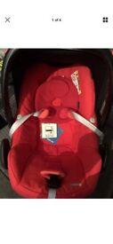 Maxi cosy pebble car seat