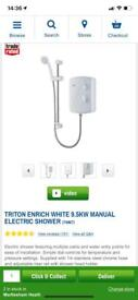 FREE - Triton Enrich 9.5kw electric shower - nearly new