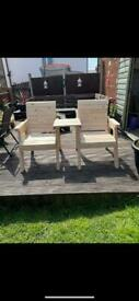 Handmade garden furniture for sale