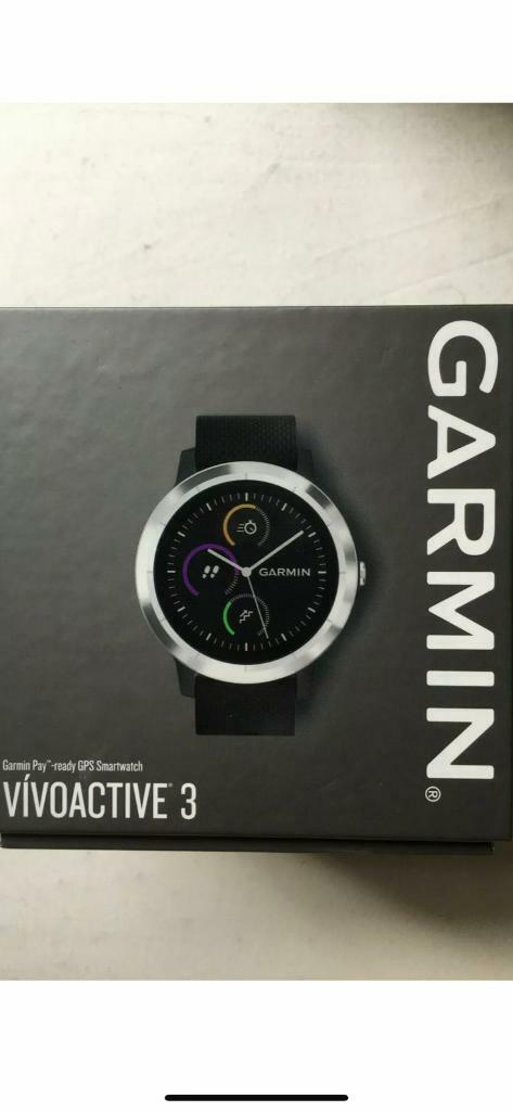 Garmin Vivoactive 3 GPS Smartwatch with Built-In Sports Apps and Wrist  Heart Rate - Black | in Cambuslang, Glasgow | Gumtree
