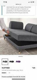 IKEA FlOTTEBO bed kings cross £250