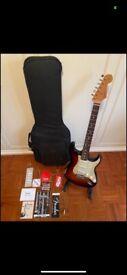 Fender Stratocaster Road Worn Roadworn 60, 2008. Sunburst. First series, Rosewood