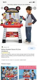Mickey Roadster Racers Pit Crew workbench