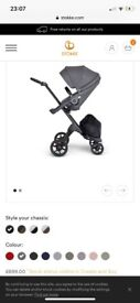 Brand new in box Stokke Xplory V6 stroller with rain cover RRP £924