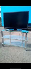 32 inch toshiba tv with glass stand £60.00 free delivery