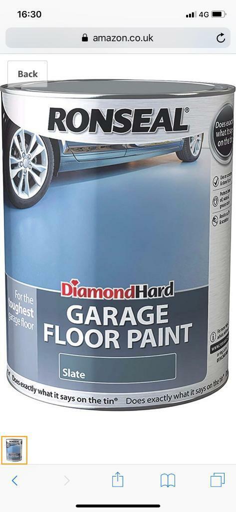 Ronseal Diamond Hard Garage Floor Paint Slate In Mapperley Nottinghamshire Gumtree