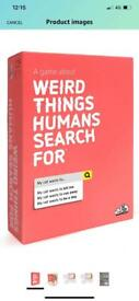 A game about weird things humans search for