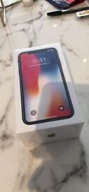 IPhone X Space Grey 256GB Brand New Sealed