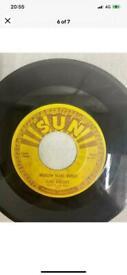Very Rare ELVIS PRESLEY Sun 215 Vocal U-140 Vinyl Record 45 Milkcow Blues Boogie