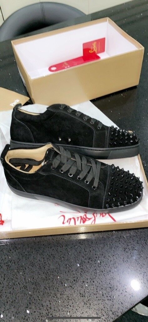 the best attitude 621de 545c9 BLACK FRIDAY BARGAIN! Christian Louboutin Low Spiked Red Bottoms, IN STOCK!  STUNNING SHOES, SIZE 8 9 | in Bradford, West Yorkshire | Gumtree