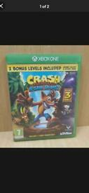 Crash bandicoot trilogy Xbox one
