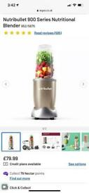 Gold nutribullet series 900- BASICALLY NEW