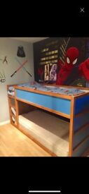Blue bunk bed for sale
