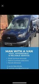 Man with a van London area