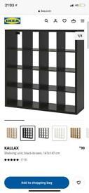 IKEA Kallax 16 cube