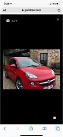 Red Vauxhall Adam Jam