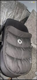 bugaboo bee 6 carrycot with adapters