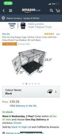 Medium pet cage with handle