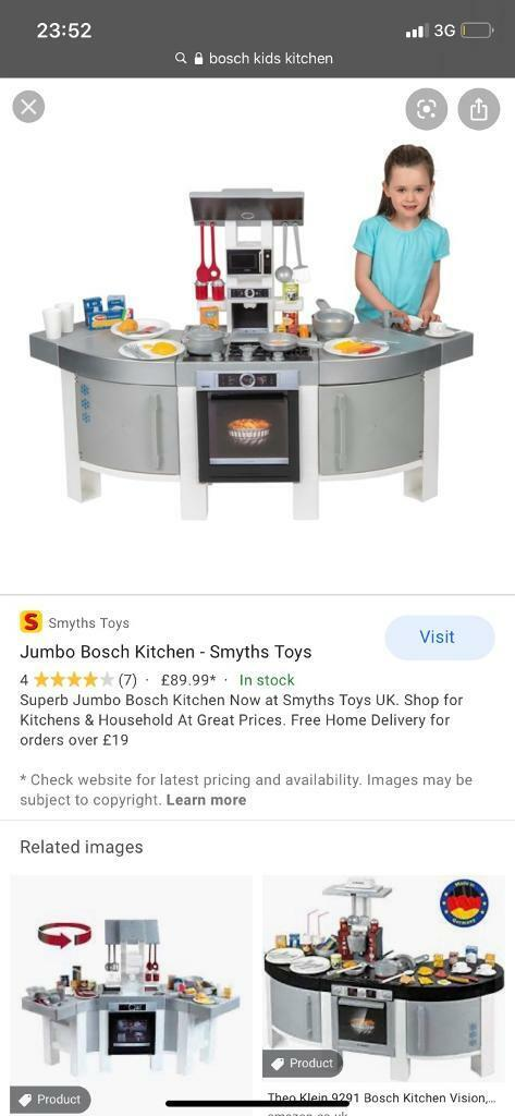 Bosch kids kitchen | in Liverpool, Merseyside | Gumtree