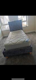Velvet Crush Single Bed