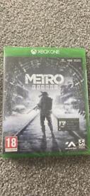 Xbox one game Metro Exodus