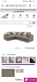 DFS Celine corner unit sofa
