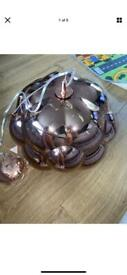 Next mirage copper pendant brand new RRP £140