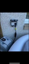 OUTSIDE SOCKET SUPPLIED AND FITTED