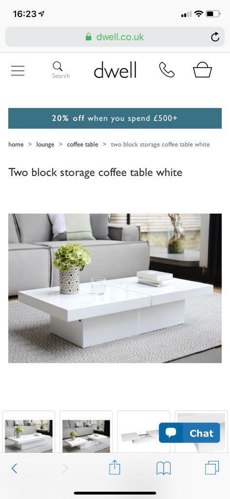 Dwell Coffee Table In Bicester Oxfordshire Gumtree