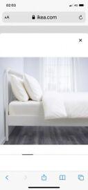 Ikea Nesttun Double Bed Frame