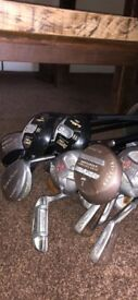 REDUCED Full set of over 20 clubs right handed quick sale