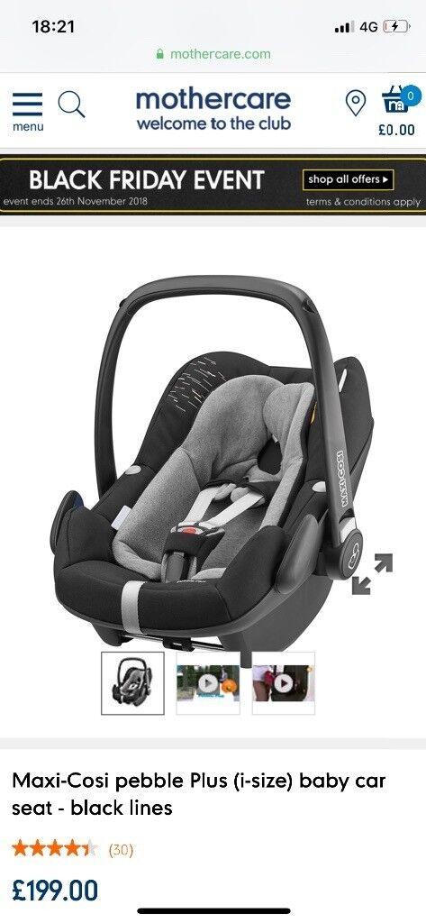 Maxi Cosi Pebble Plus I Size Baby Car Seat And 2 Way