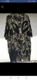Kin by john lewis dress /oversize shirt size 18 new