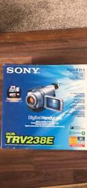 Sony Camcorder DCR TrV238E Boxed in good working order with carry bag case
