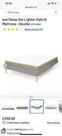 Eve memory foam double mattress. Brand new