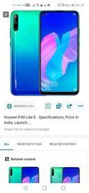 Huawei p40 lite e 128mb