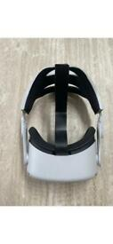 Oculus Quest 2 VR Replacement Headset Only - 64GB - With Head Strap Extension