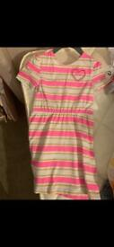 2 years guess pink dress