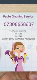Private cleaning service domestic house clean