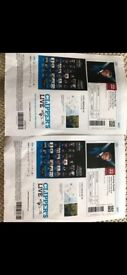 2 Andrea Bocelli Concert Tickets, on the 22nd August near Barcelona Spain