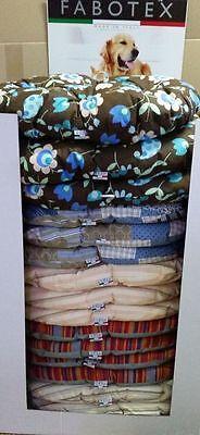 Cuscino per Cani Gatti cm.80×60 Materassino Morbido Lavabile cuccia Imbottito