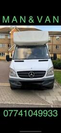 24/7 CHEAP MAN AND VAN HOUSE REMOVAL LOCAL AND NATIONWIDE SERVICE.