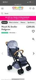 BRAND NEW BOXED COSATTO WHOOSH XL PUSHCHAIR in Hedgerow Compact and Sturdy
