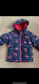 Girls 7-8 Joules coat