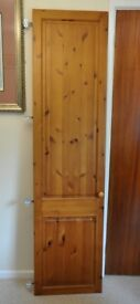 5 pine bedroom cupboard doors