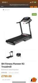 Bh R3 folding treadmill