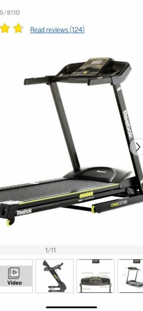 Reebok treadmill | in Southside, Glasgow | Gumtree